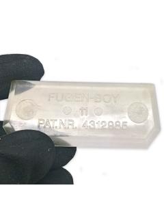 FUGENBOY 11 mm Spachtel Silikonabzieher Fugenspachtel