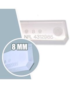 FUGENBOY 8 mm afgladprofiel